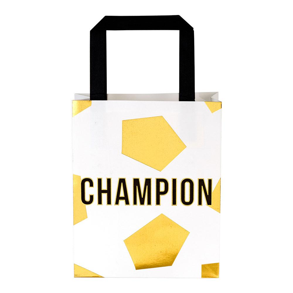 Football Champions Party Bags (x6)