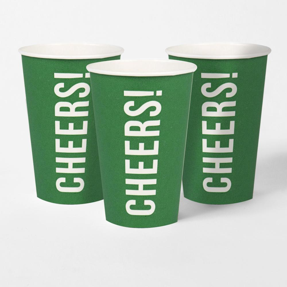 Football Champions Eco Cups (x8)