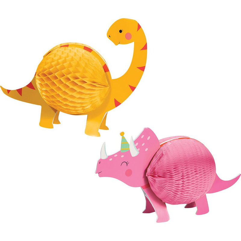 Dino Party Honeycomb Centrepiece Set (x2)