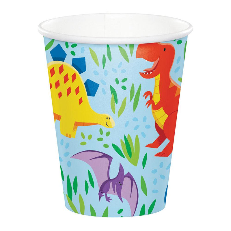 Dino Party Paper Cups (x8)