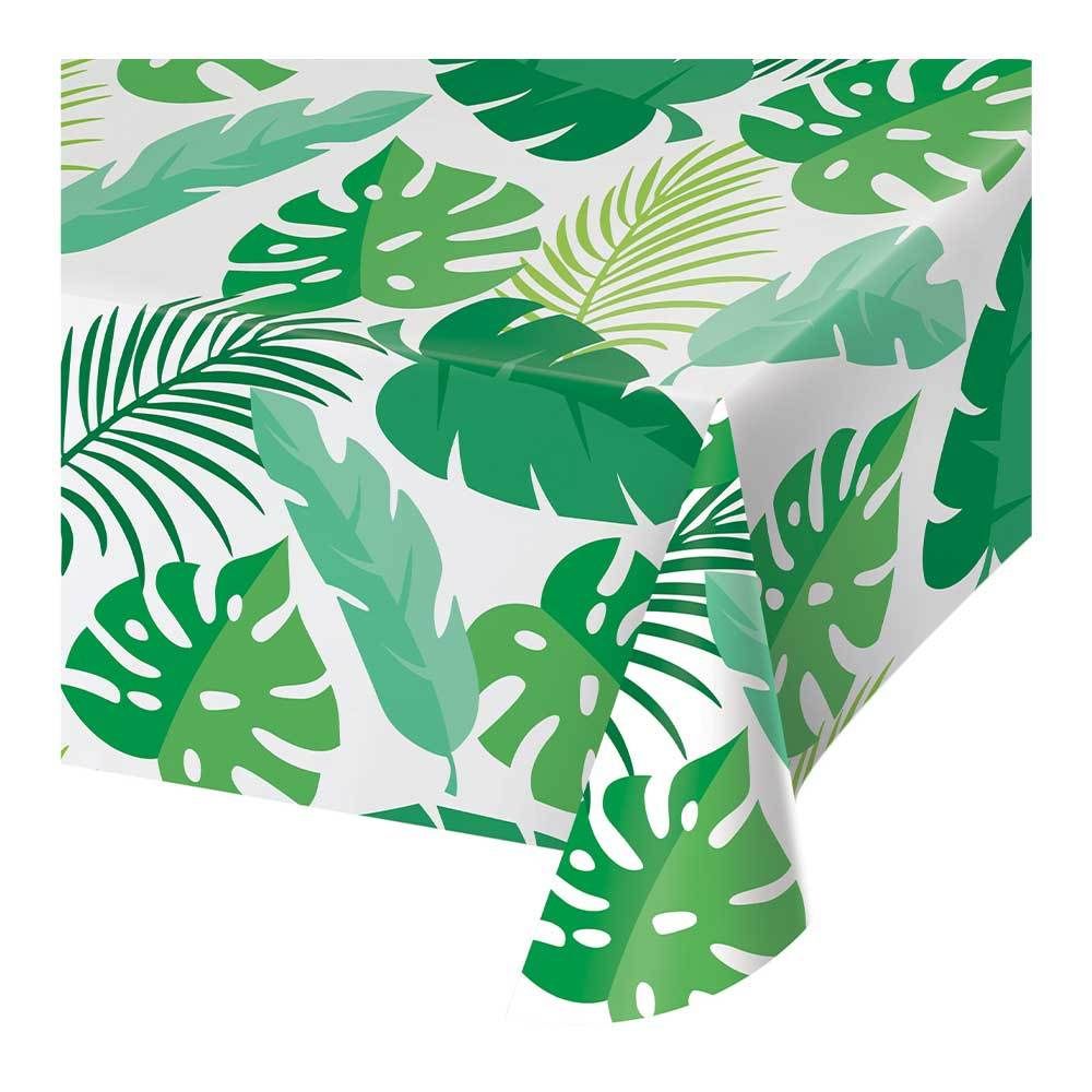 Palm Leaves Plastic Table Cover All Over Print