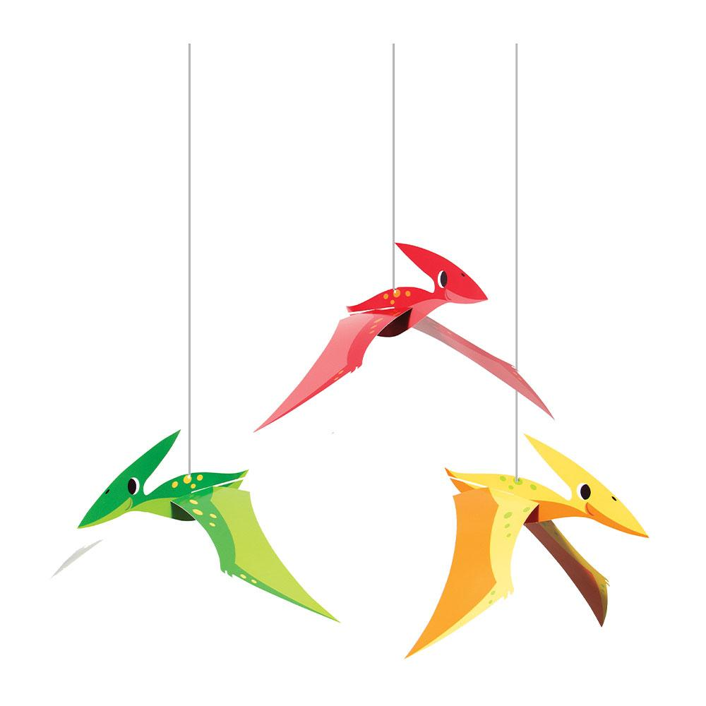 Dino Party 3D Hanging Cutouts (x3)