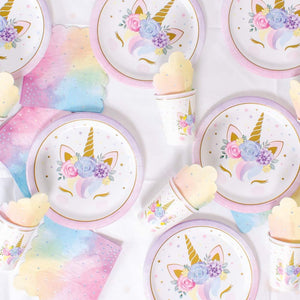 Unicorn Baby Party Table Set