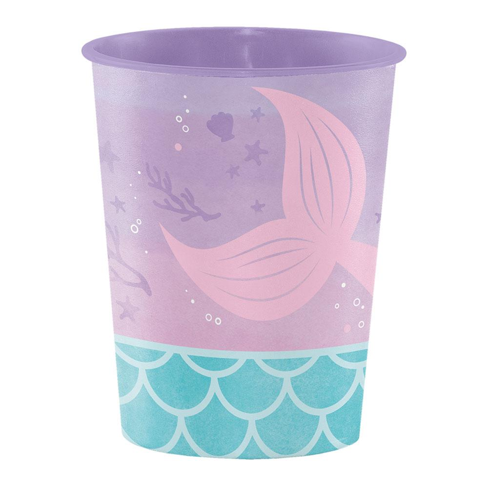 Mermaid Shine Plastic Keepsake Cup
