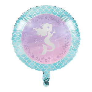 Mermaid Shine Foil Balloon