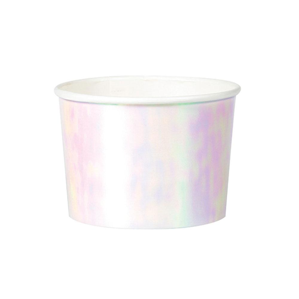 Iridescent Foil Treat Cups (x6)