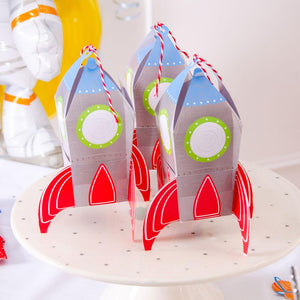 Blast Off! Party Treat Boxes (x8)