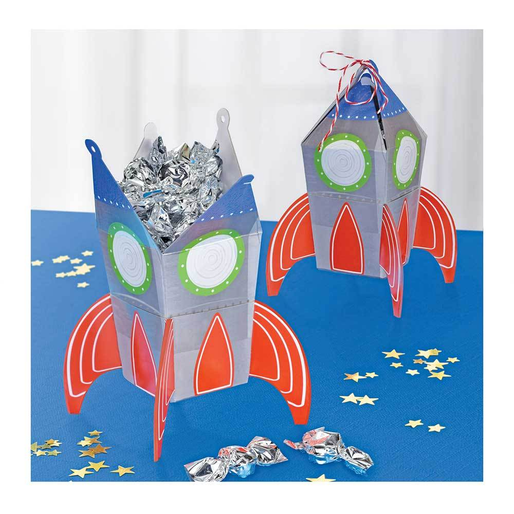 Blast Off! - Party Treat Boxes (x8)