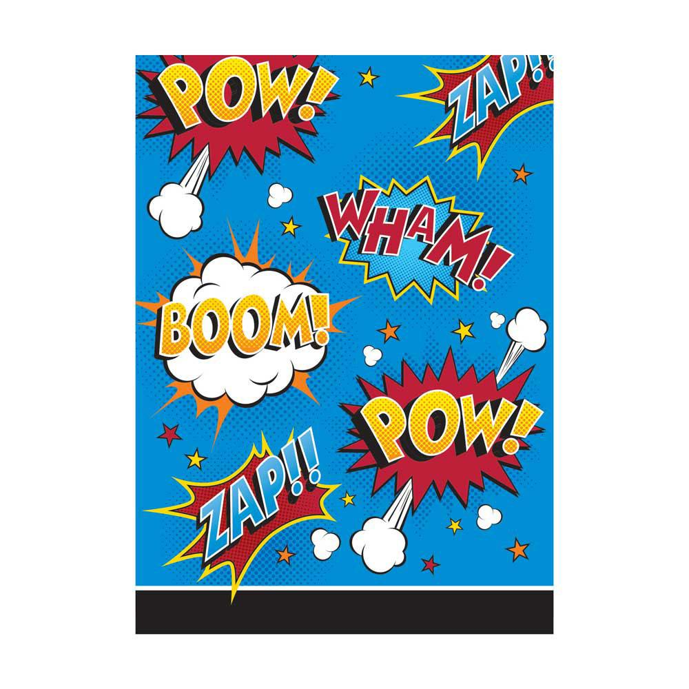 Superhero Slogan Party Bags (x8)