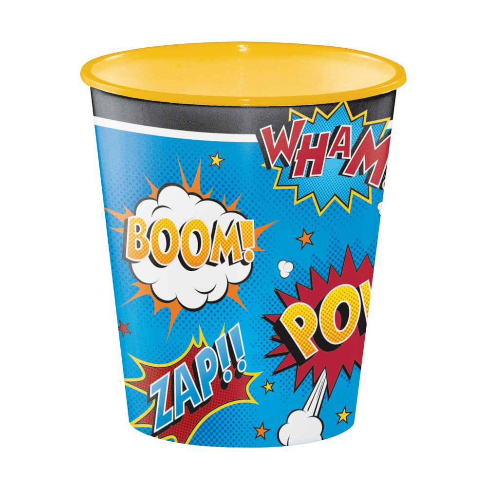 Superhero Slogan Keepsake Gift Cup