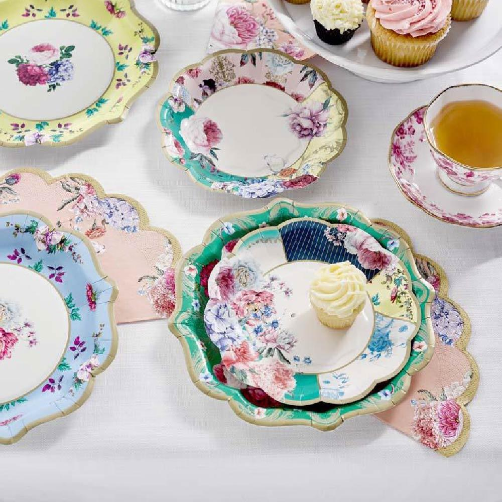 Truly Scrumptious Side Plates (x12)
