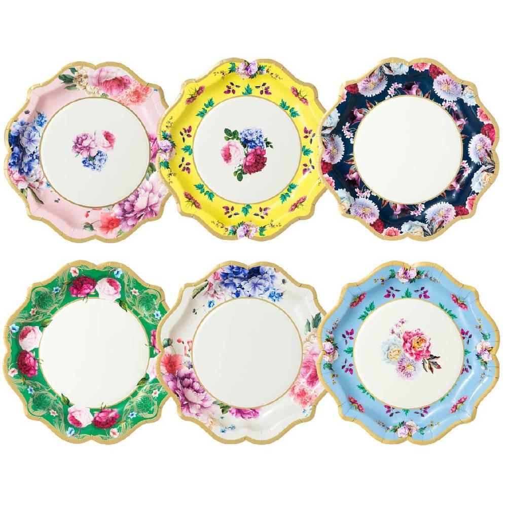 Truly Scrumptious Plates (x12)
