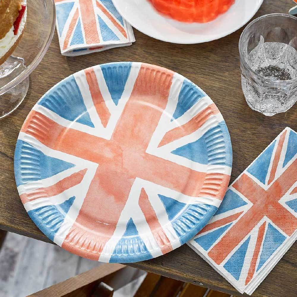 Best of British Plates (x8)