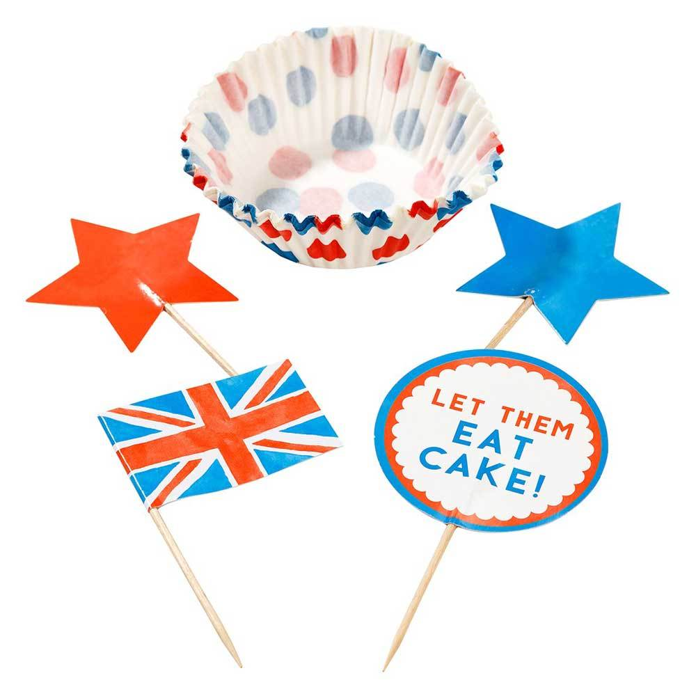 Best of British Cup Cake Set