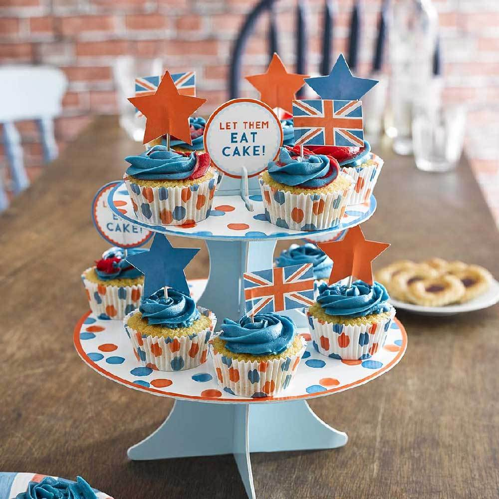 Best of British Cake Stand