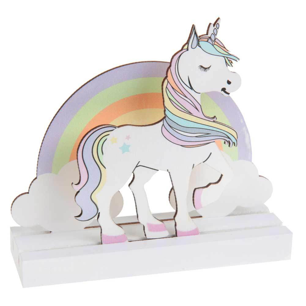 Rainbow Unicorn Party Table Decoration