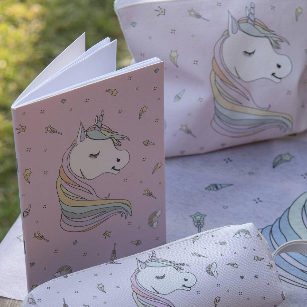 Rainbow Unicorn Party Notebook