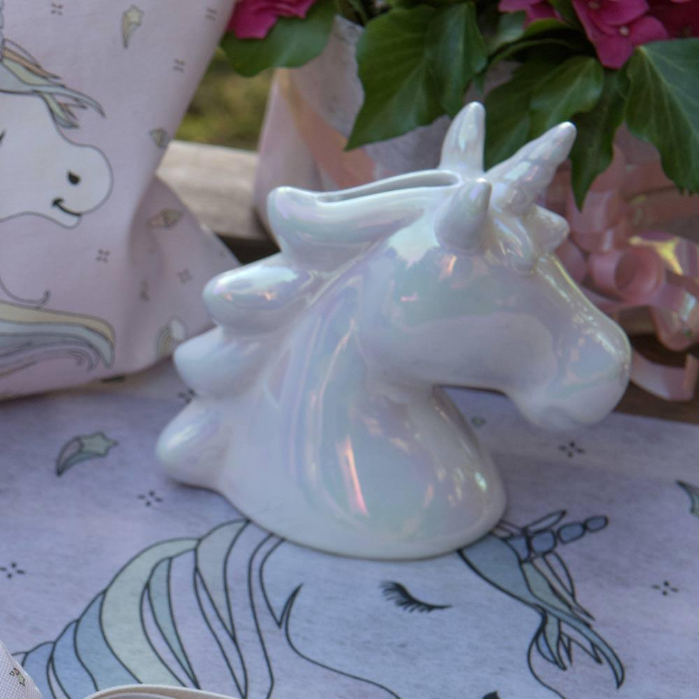 Rainbow Unicorn Money Box