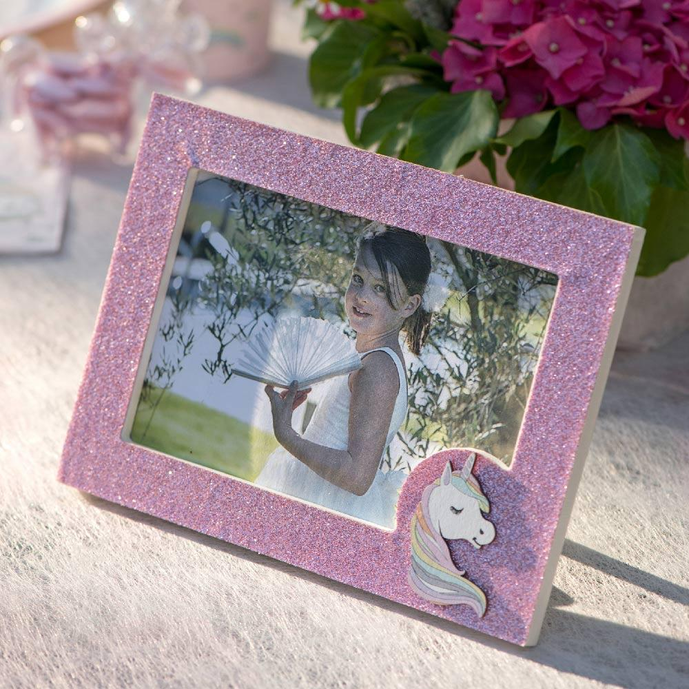 Rainbow Unicorn Photo Frame