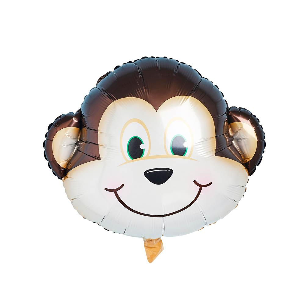 Snappy Birthday Monkey Balloon (x1)