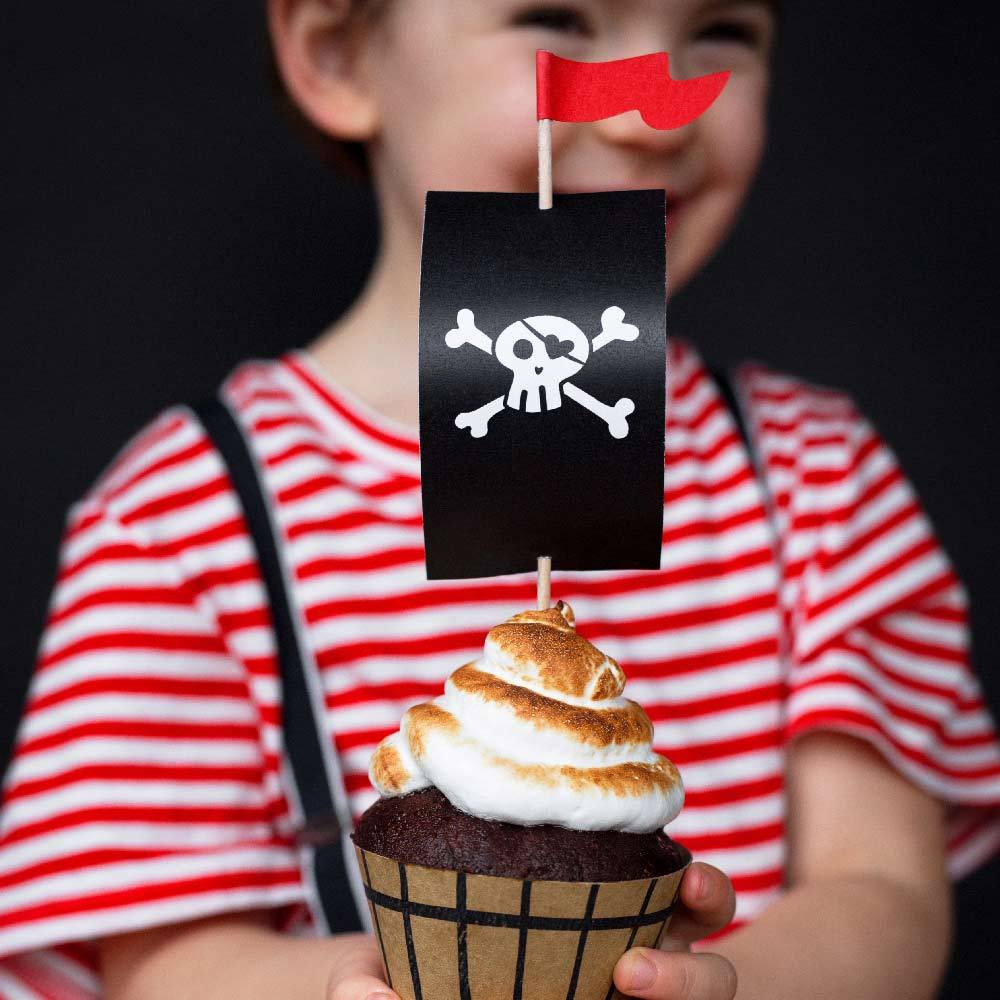 Pirates Party Cupcake Kit (x6)