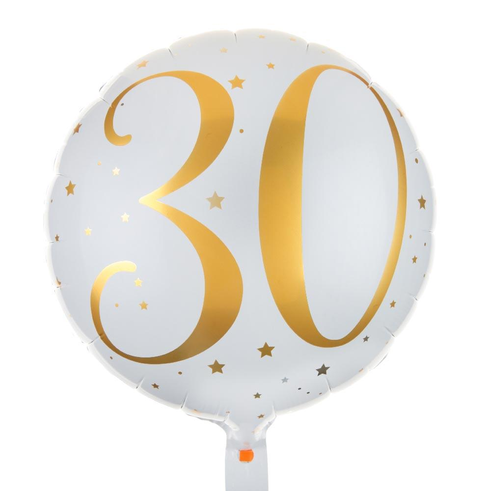 30th Birthday Foil Balloon