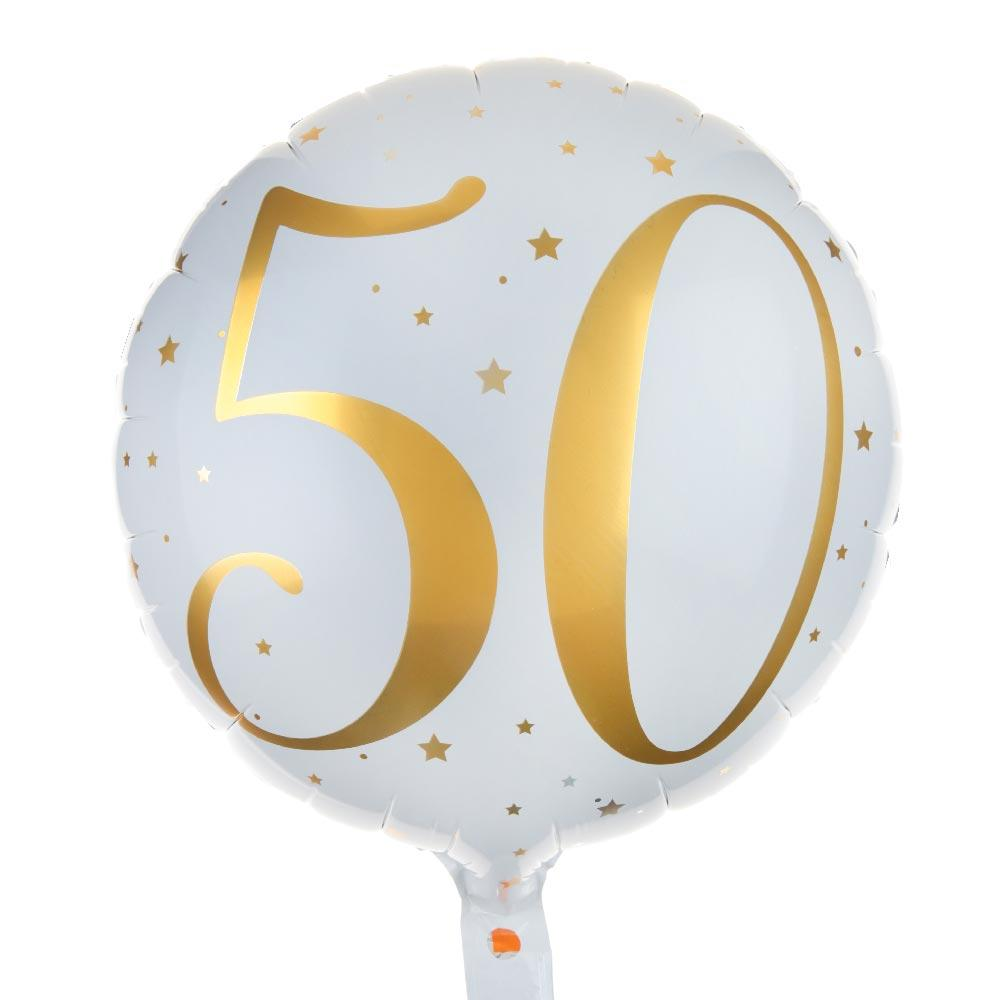 50th Birthday Foil Balloon