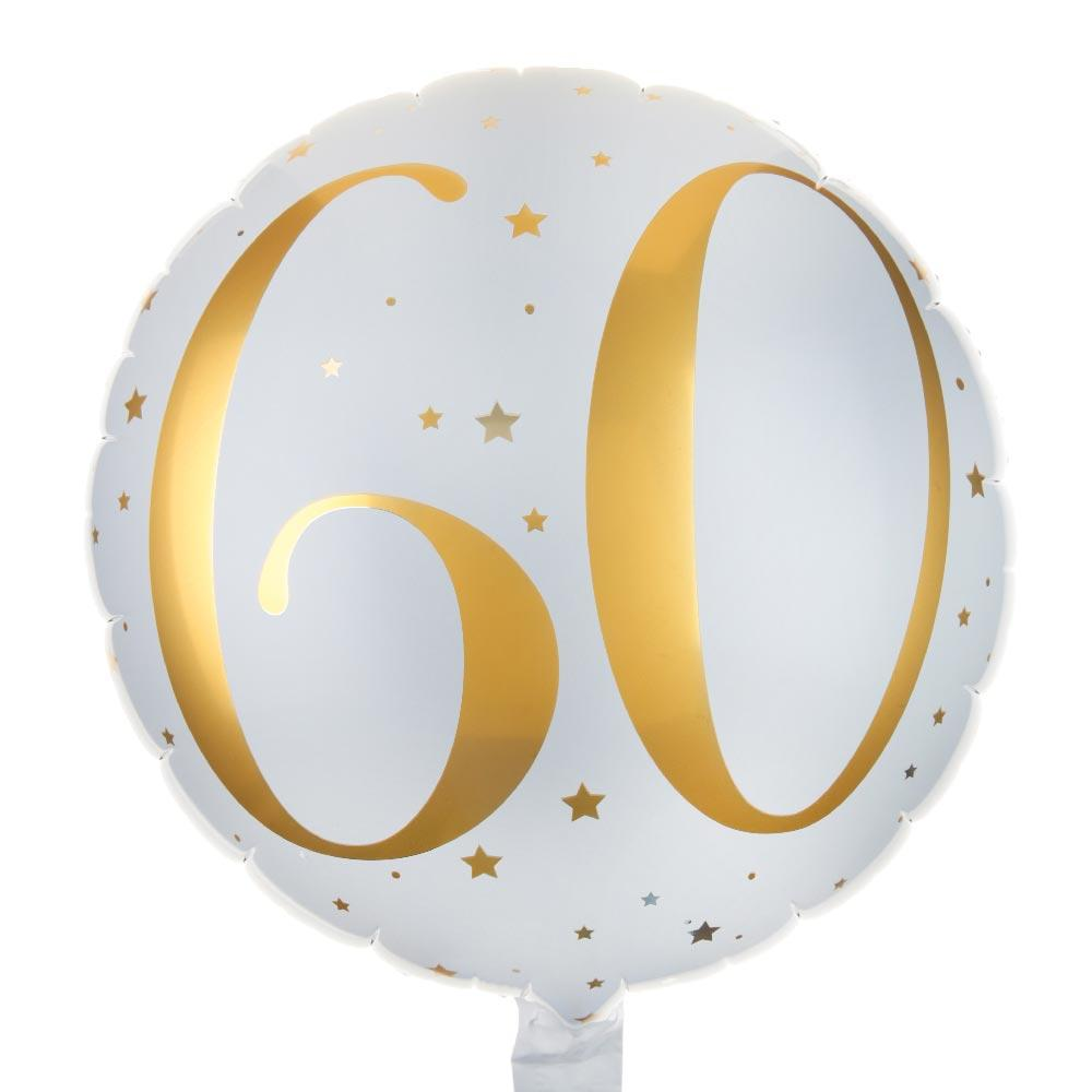 60th Birthday Foil Balloon