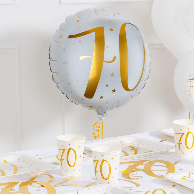 70th Birthday Foil Balloon