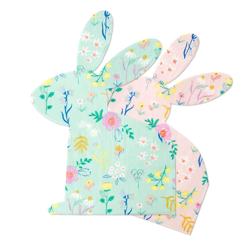 Wildflower Bunny Napkins (x20)