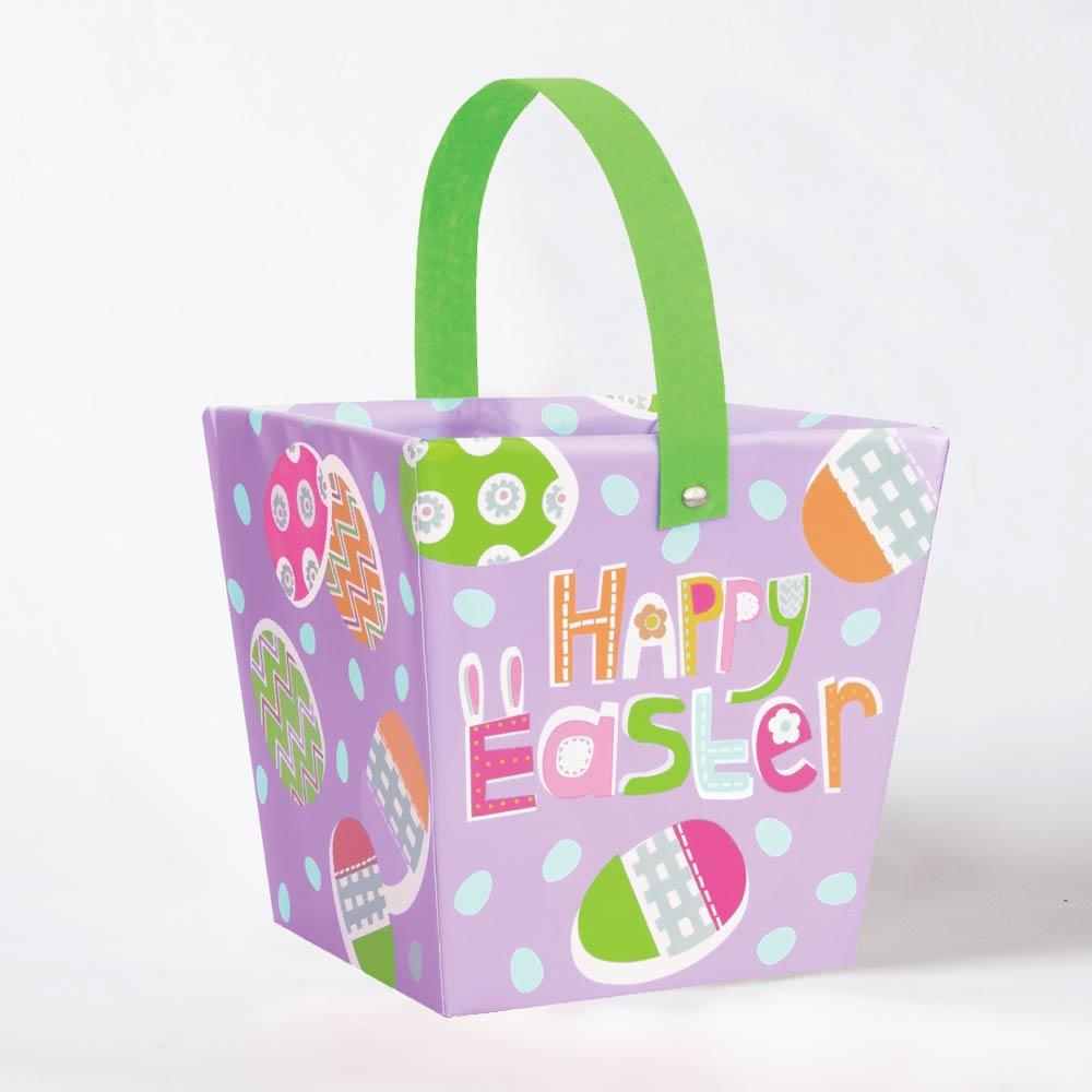 Lilac Happy Easter Egg Hunt Bucket