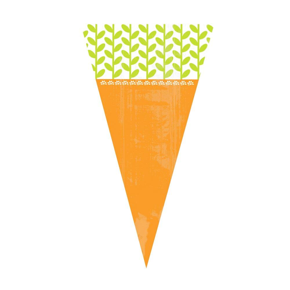 Carrot Cello Bags (x15)