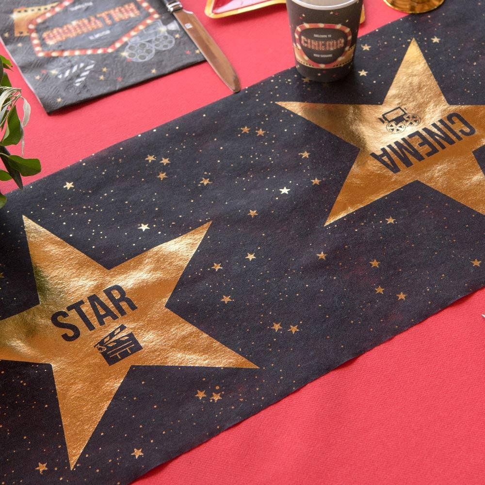 Hollywood Party Table Runner