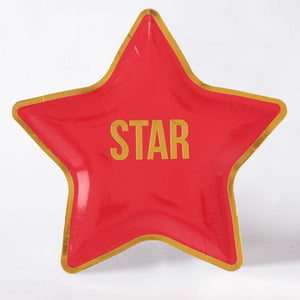 Small Star plate (x10)