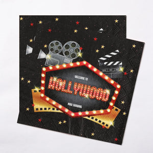 Hollywood Party Napkins (x20)