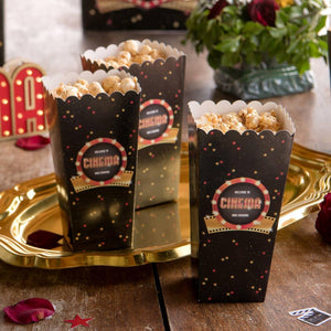 Hollywood Party Popcorn Box (x8)