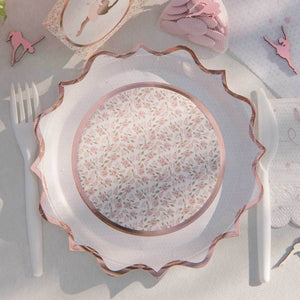 Ballerina Paper Party Plate (x10)