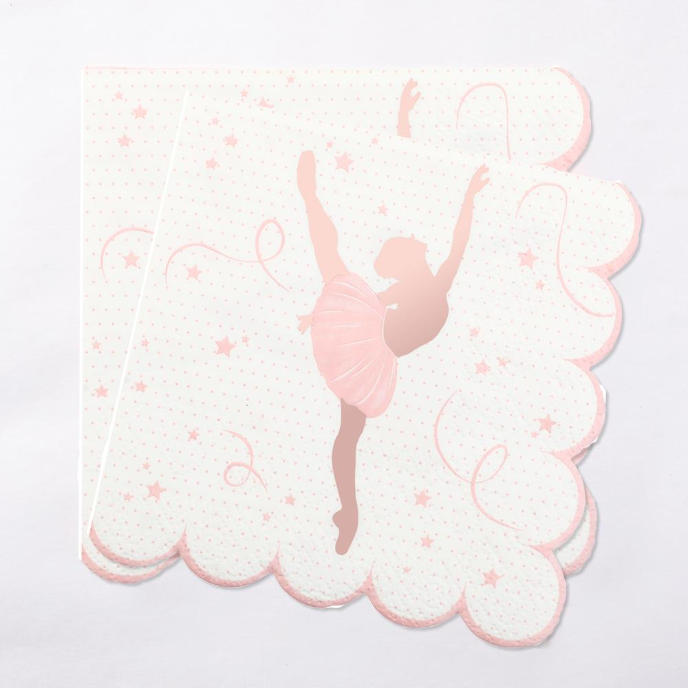 Ballerina Party Napkin (x20)