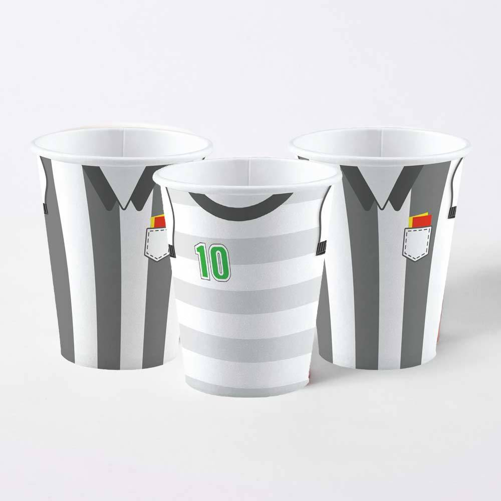 Kicker Party Paper Cups (x8)