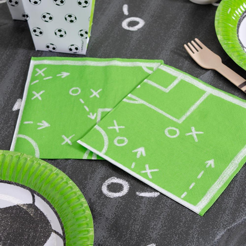 Kicker Party Napkins (x20)
