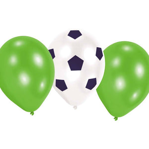 Kicker Party Latex Balloons (x6)