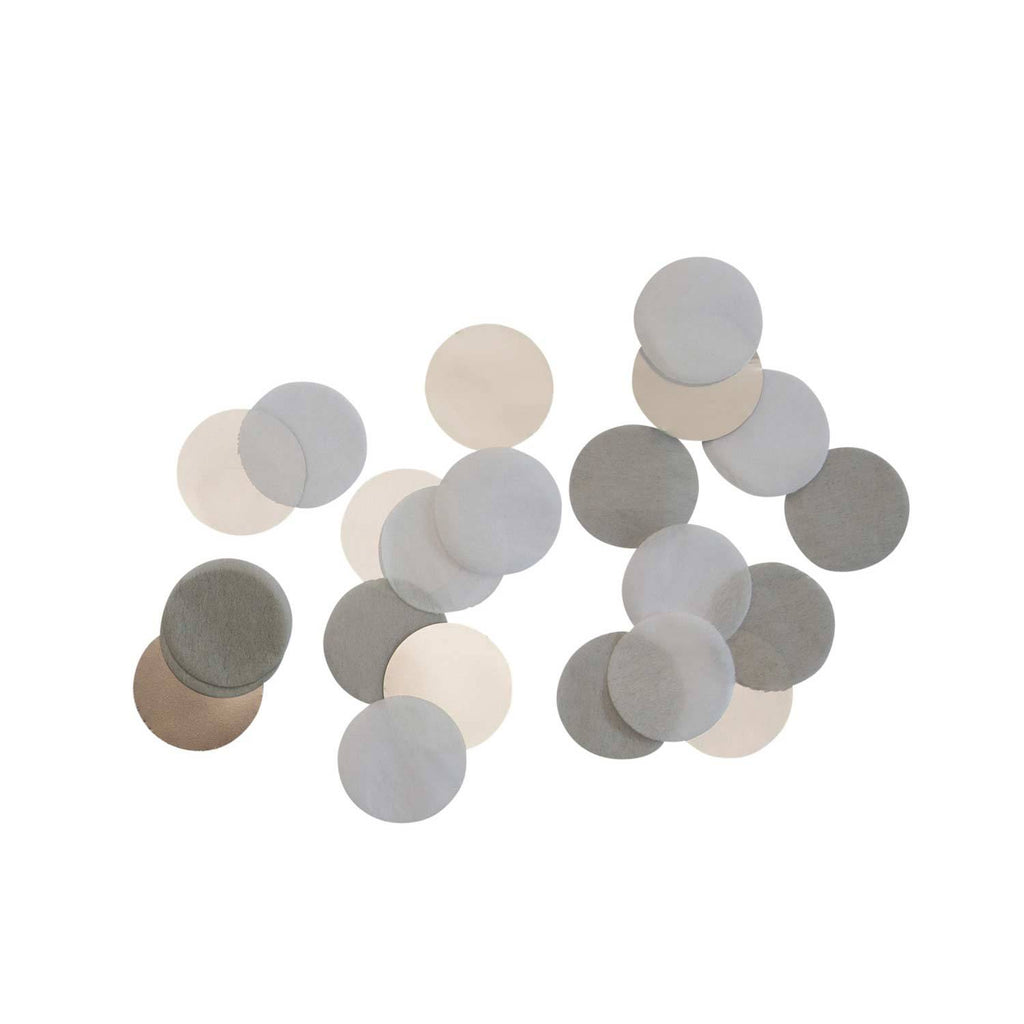 Table Decoration Confetti Silver