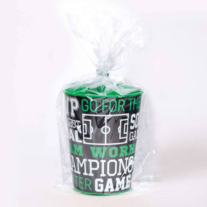 Football Plastic Gift Cup