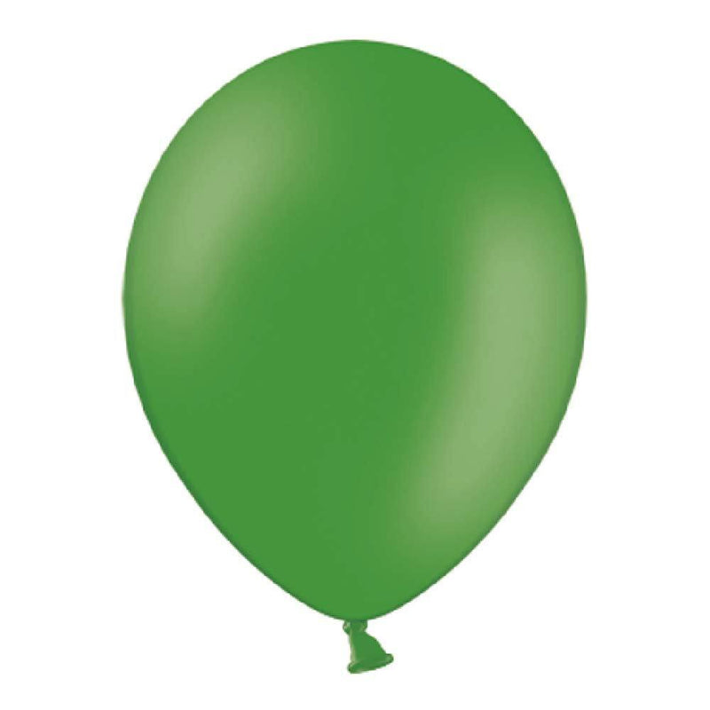 Pastel Latex Balloons - Emerald Green (x10)