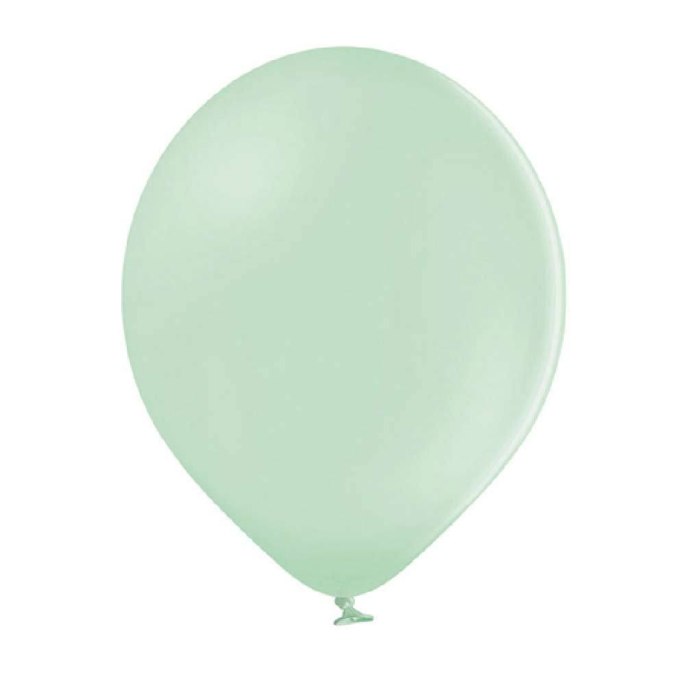 Strong Balloons Metallic Mint Green (x10)