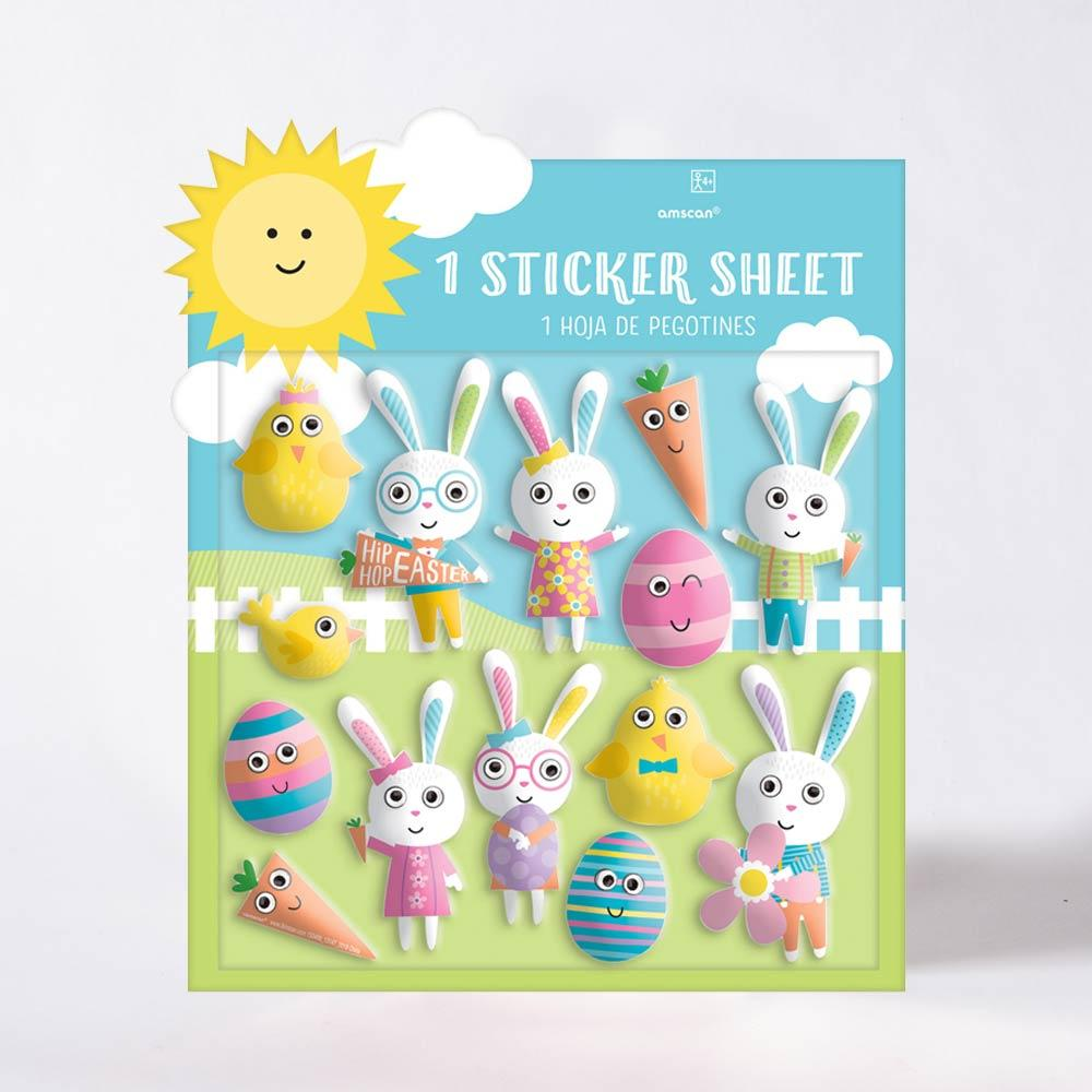 Easter Puffy Stickers