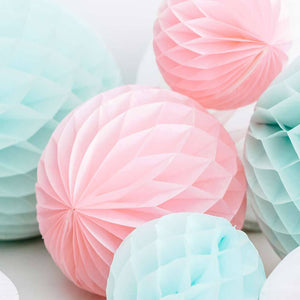 Honeycomb Ball Light Pink, 30cm