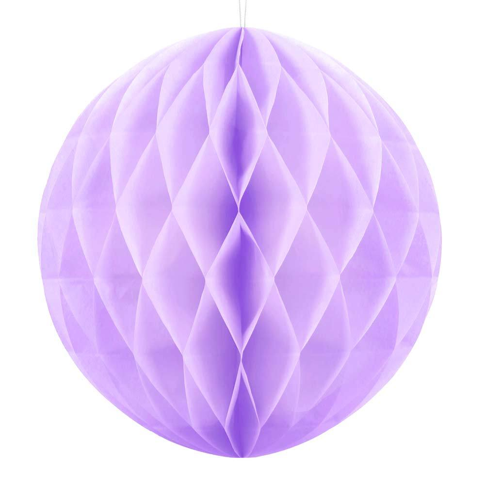 Honeycomb Ball Light Lilac, 30cm