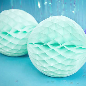 Honeycomb Ball Light Mint, 30cm