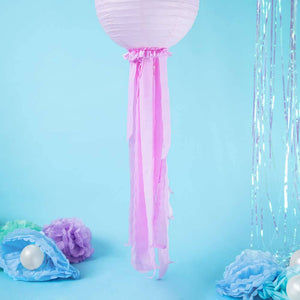 Crepe Streamer Light Pink (x4)